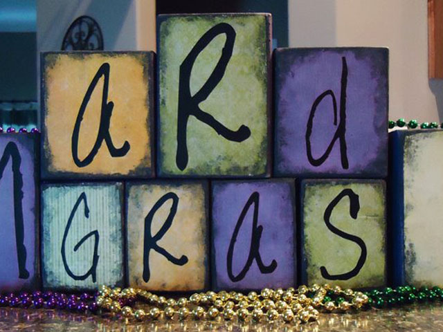 Mardi Gras Blocks